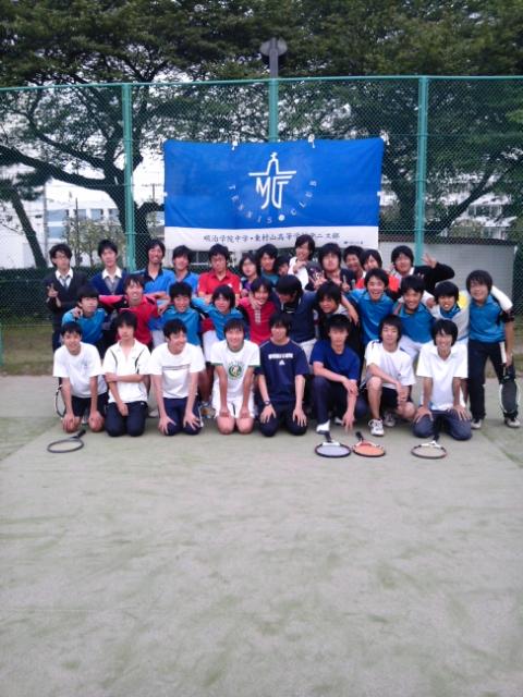 明学は全員テニスで勝つ!
